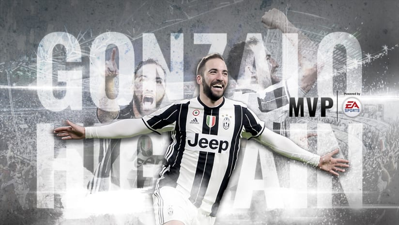 "Gonzalo Higuain ""MVP of the Year"""