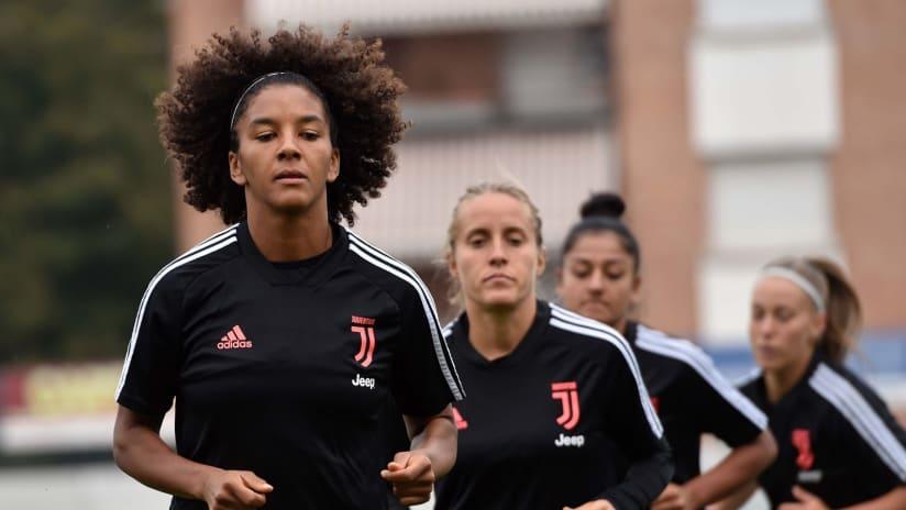 Training | L'allenamento delle Juventus Women