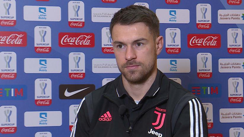 Juventus - Lazio | Ramsey: «Voglio vincere il mio primo trofeo con la Juventus»