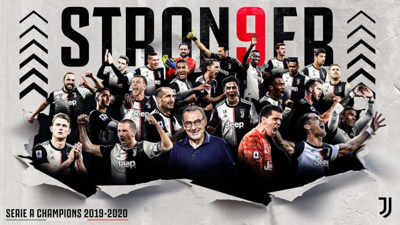 #STRON9ER THAN EVERYTHING | JUVENTUS SERIE A CHAMPIONS 2019/20! 🏆🏆🏆🏆🏆🏆🏆🏆🏆