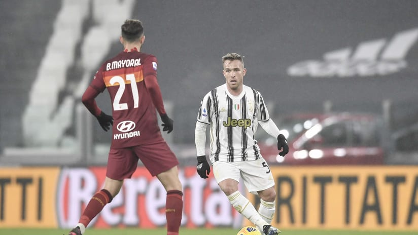 Juventus - Roma | Arthur: «A very difficult victory»