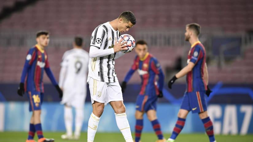 13 Barcelona Juventus 8 dicembre 2020