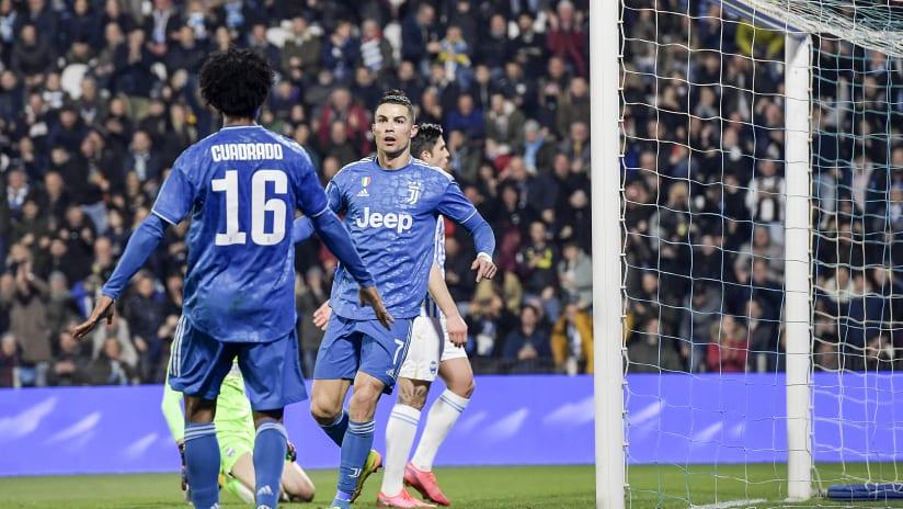 Assist + gol | Ronaldo-Cuadrado