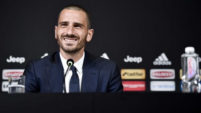 La conferenza stampa di Leonardo Bonucci
