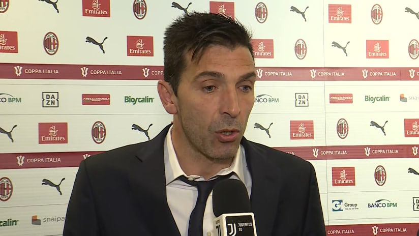 Milan - Juventus | Buffon: «I saw a Juve that I liked in the fluidity of the maneuvers»
