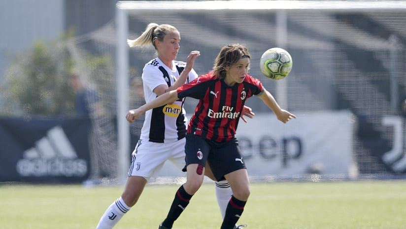 Women | Highlights Coppa Italia - Semifinals | Juventus - Milan