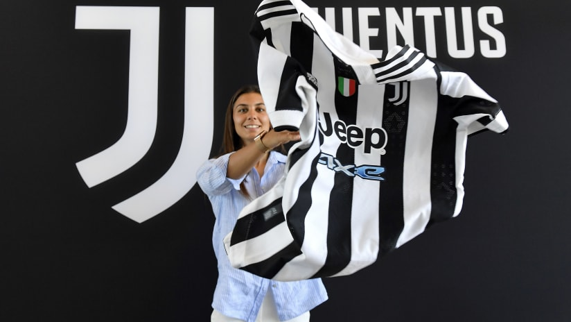 Women |  Agnese Bonfantini's first words as a Bianconera!