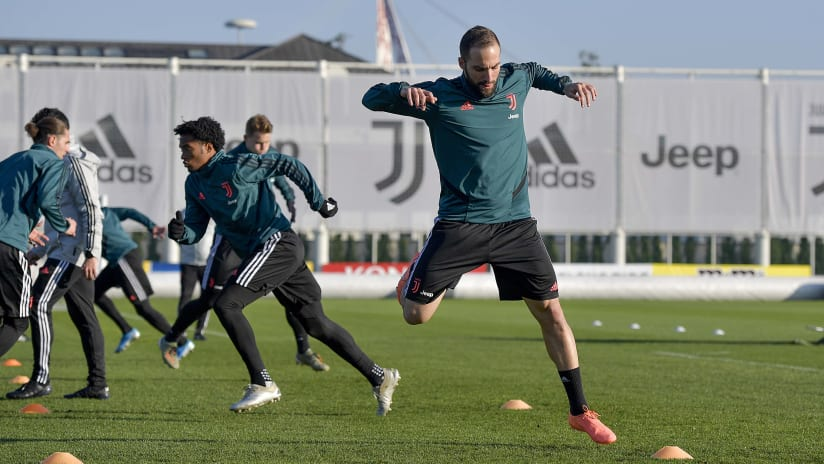 Training | Ahead of Juventus - Cagliari