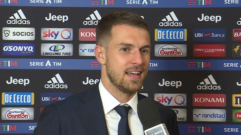 Juventus - Hellas Verona | Ramsey: «Ho aspettato a lungo questo momento»