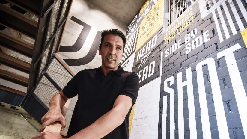 Interview | Gigi Buffon at Flagship Store Milan