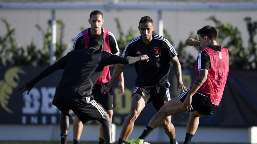 Training | The internationals return to the JTC
