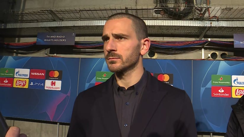 Lyon - Juventus | Bonucci: «In the return leg we must absolutely progress through»