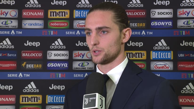 Juventus - Cagliari | Rabiot: «We want to work to continue like this»