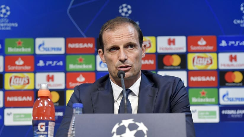 Press conference | The eve of Valencia - Juventus