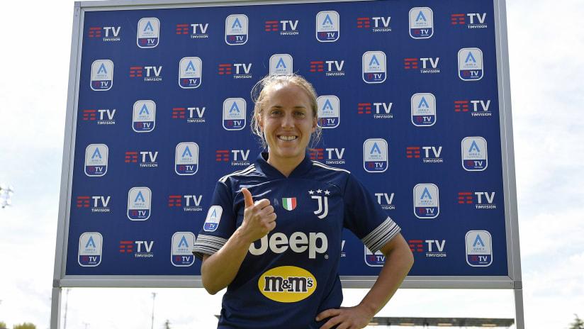 Women | Juventus - Florentia | Parola all'MVP, Valentina Cernoia