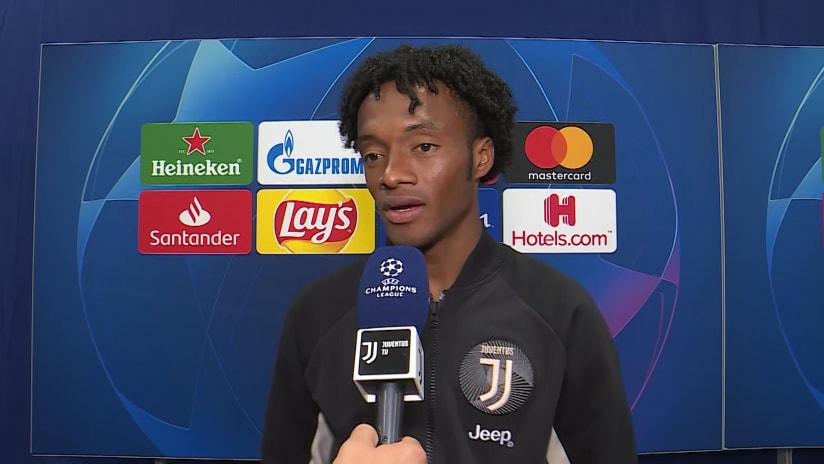 Atletico Madrid - Juventus | Cuadrado: «I'm happy for the goal but sad for the result»
