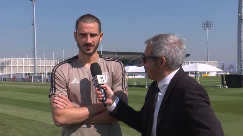 Training | Bonucci: «Siamo pronti per affrontare il Napoli»