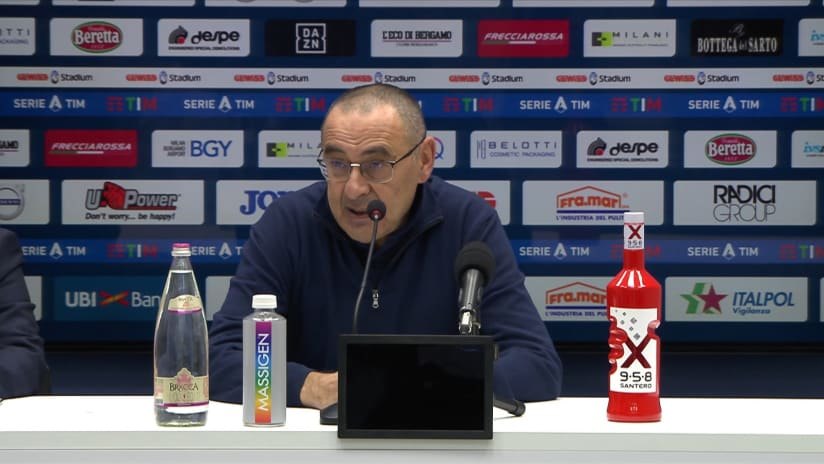 Conferenze stampa   Post Atalanta – Juventus