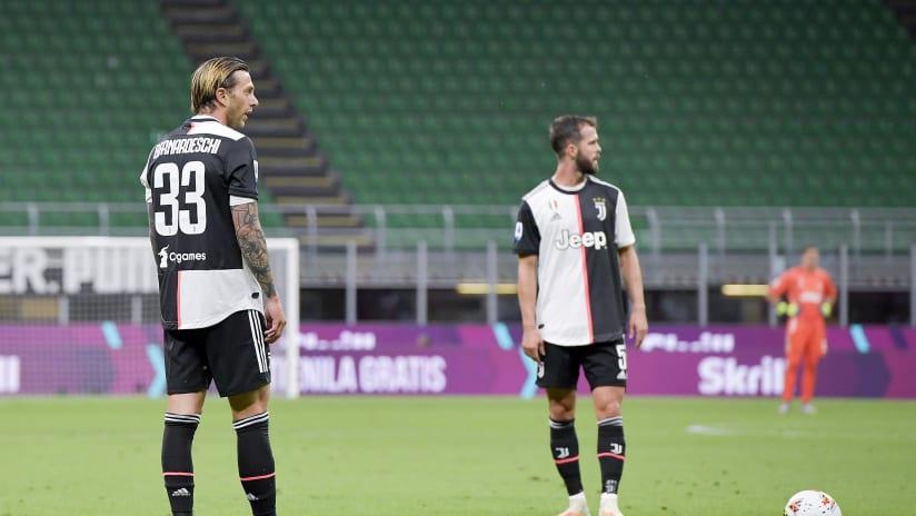 Pitchside view | Matchweek 31 | Milan - Juventus