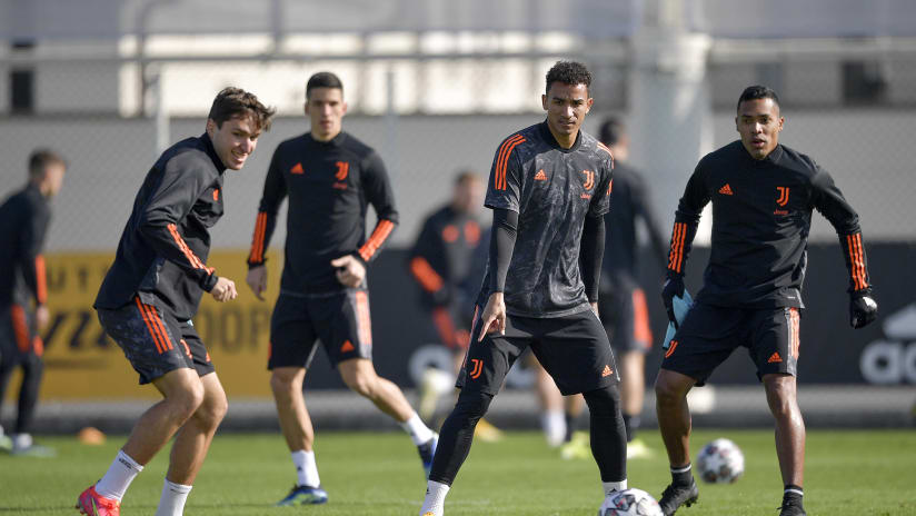 Juve's workout on the Eve of Porto - Juventus