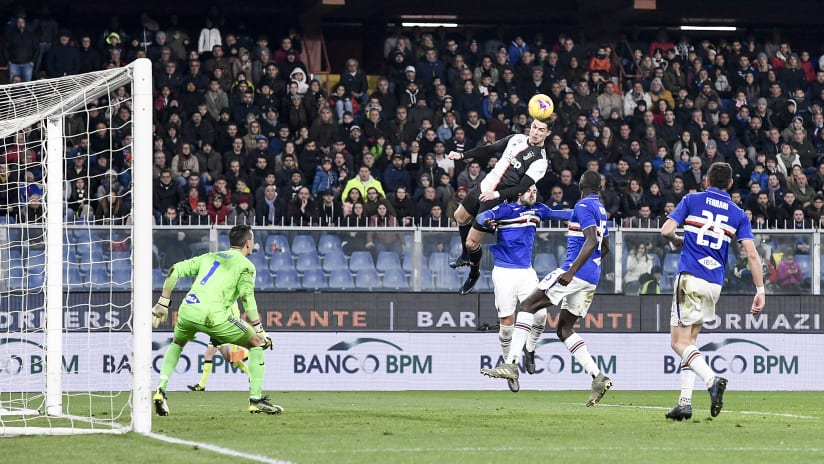 Heroic Juventus Headed Goals!