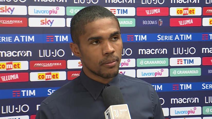 Bologna - Juventus | Douglas Costa: «Era molto importante vincere»