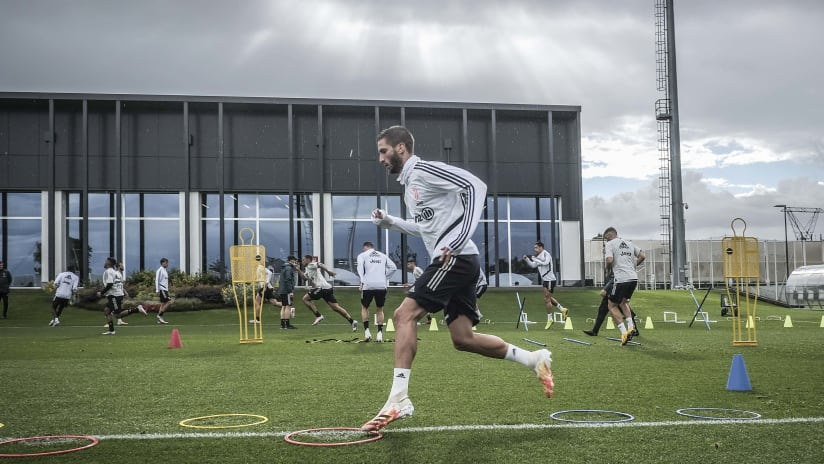 Training | A new week at the JTC