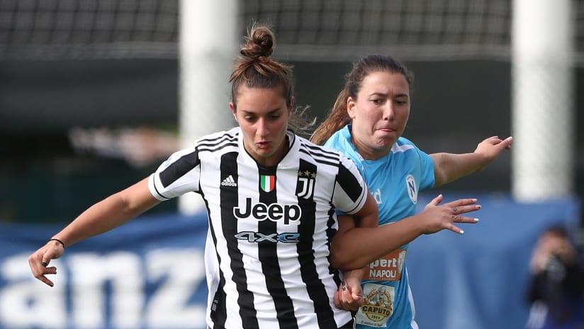 Women   Juventus - Napoli   Lenzini: «Un orgoglio il record con questa maglia»
