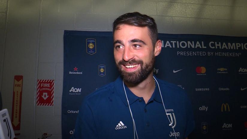 PSG - Juventus | Pinsoglio: «Un onore tornare a vestire questa maglia»