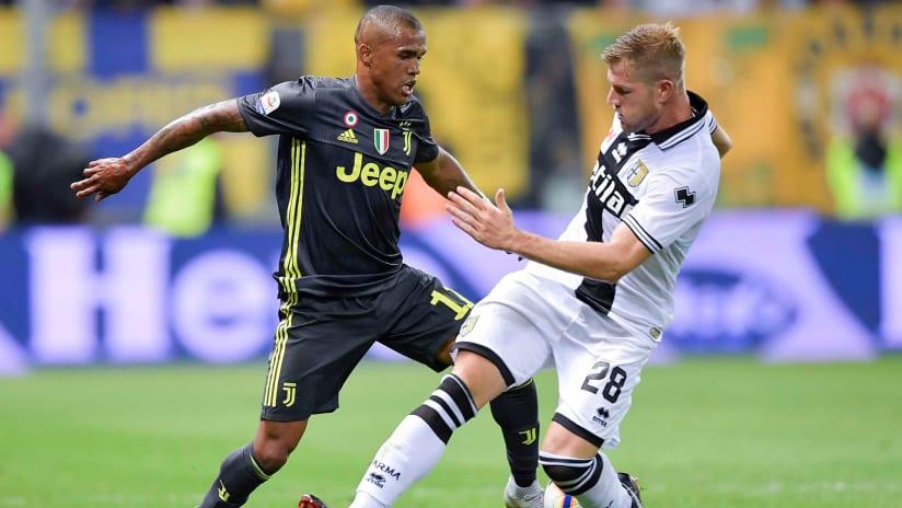 Parma - Juventus | Douglas Costa: «I 3 punti sono la cosa più importante»