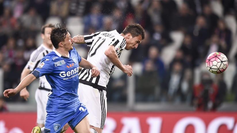 Juventus - Empoli | Mandzukic-goal, the 2016 victory
