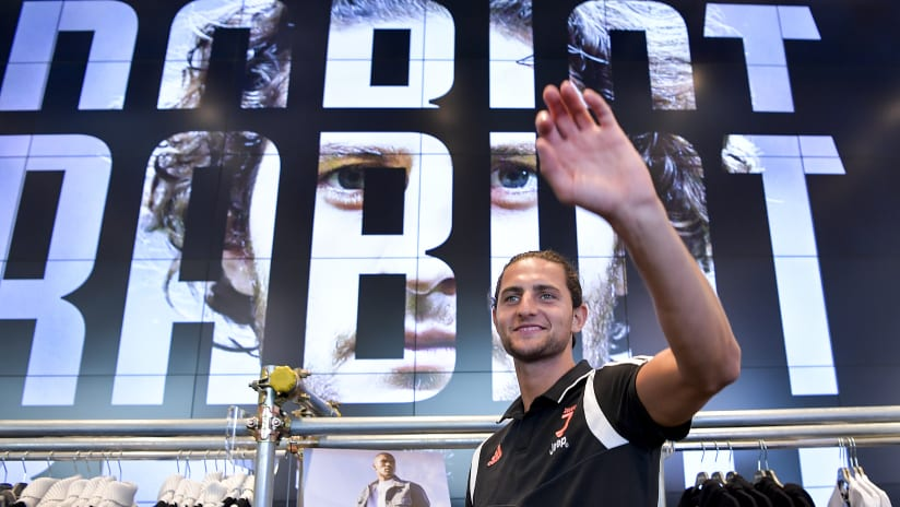 The first interview of Adrien Rabiot