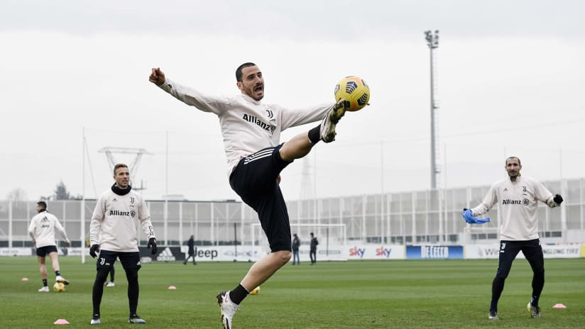 Juventus Training | Turning on the Style In Training!