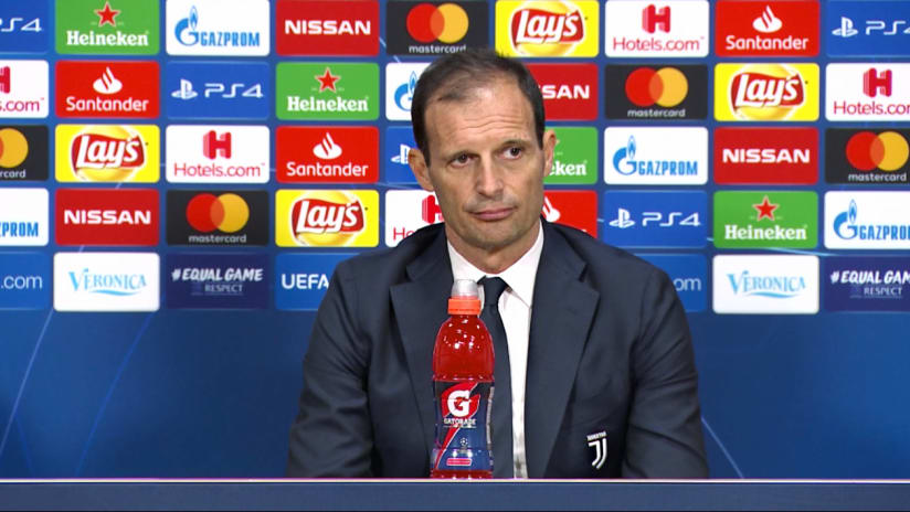 Press conference | The eve of Ajax - Juventus