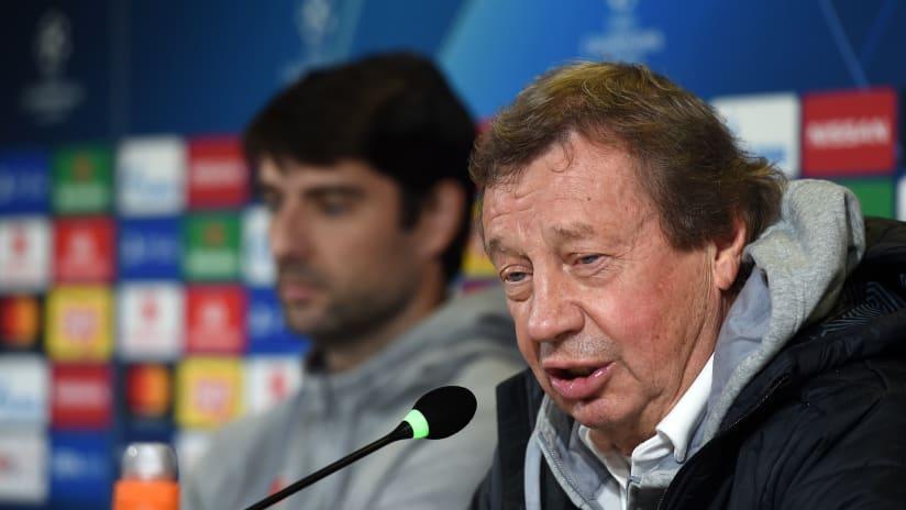 Press conference | Lokomotiv Moskow's statements