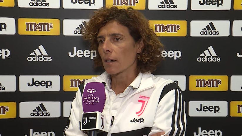 Women | Juventus - Barcelona | Guarino: «We're ready for a game that everyone would like to play»