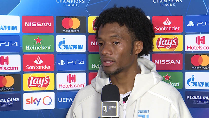 Juventus - Lokomotiv Mosca | Cuadrado: «Abbiamo lottato con molta pazienza»