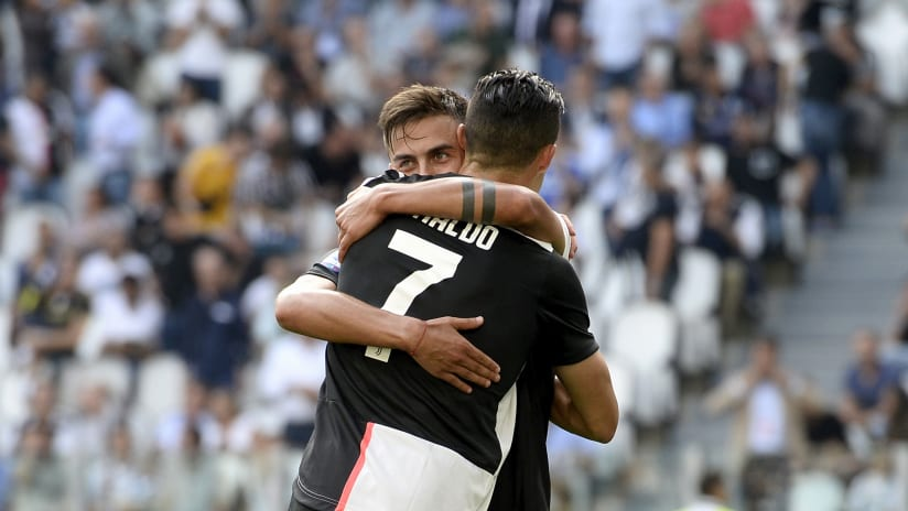 Assist + gol | Dybala-Ronaldo