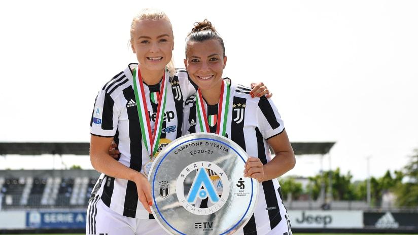 Women | Juventus - Inter | La gioia di Caruso e Lundorf