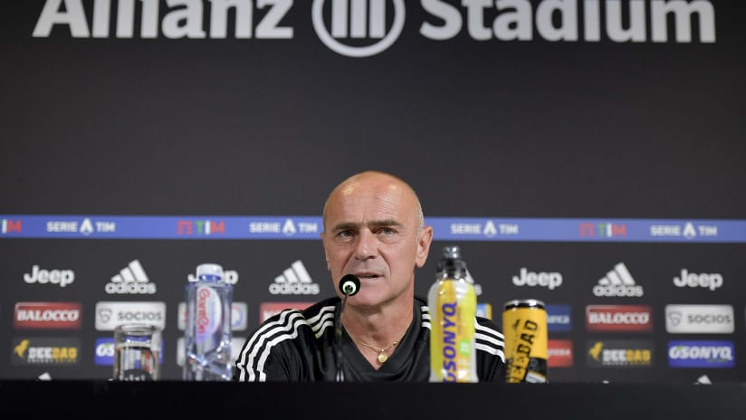 Press conference   The eve of Juventus - Napoli
