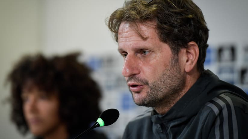 Press Conference | Montemurro and Gama preview Juventus - Chelsea