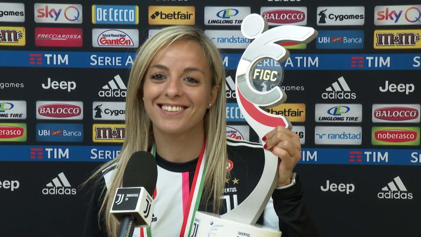 Rosucci dopo la premiazione: «Oggi è stato bellissimo»