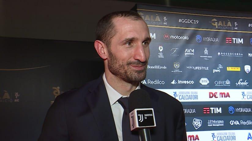 Gran Galà del Calcio | Chiellini: «Il mio recupero procede bene»