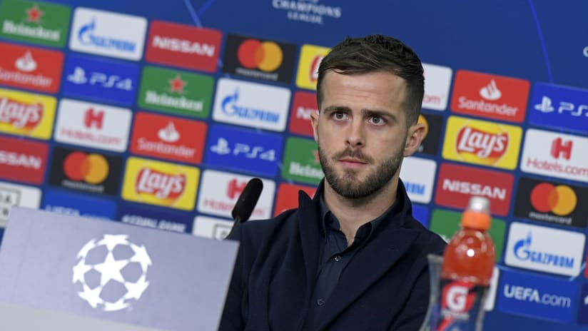 Press conference   The eve of Bayer Leverkusen - Juventus