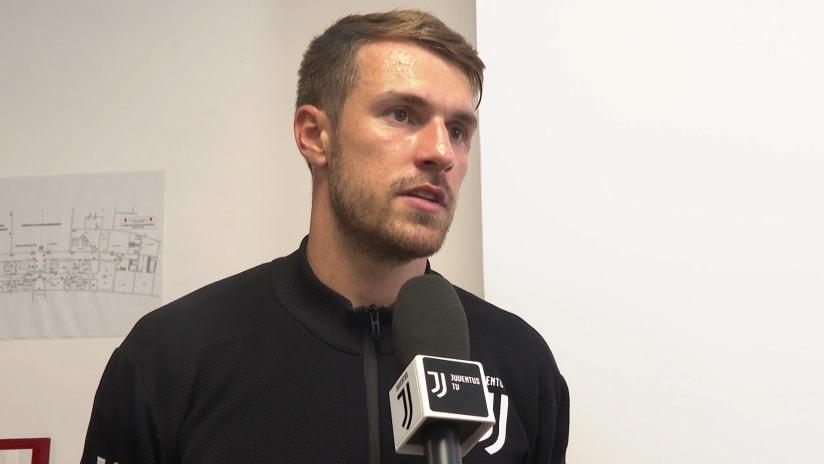 Triestina - Juventus | Ramsey: «Sono molto orgoglioso di vestire questa maglia»