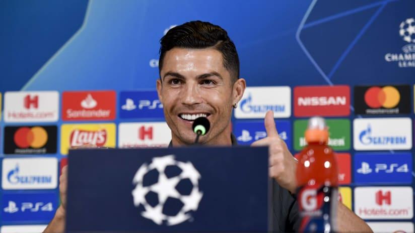 Press conference   The eve of Juventus - Lokomotiv Mosca