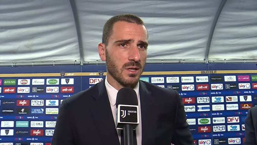 Lecce - Juventus | Bonucci: «We tried everything to turn it around and get the three points»