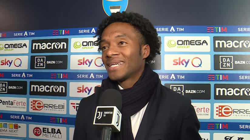 SPAL - Juventus | Cuadrado: «We have a lot of confidence in view of Lyon»