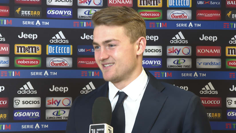 Juventus - Parma | De Ligt: «We took our chance»