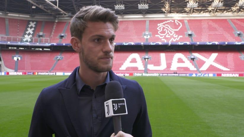 Ajax - Juventus | Rugani: «Dobbiamo limitare la loro aggressività»